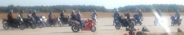 Motorradkurs Trockenübungen