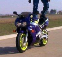 Blödelei auf dem Motorrad